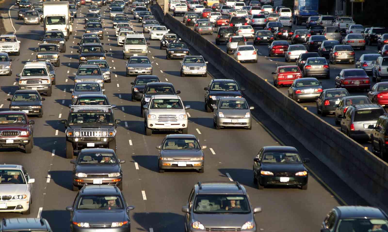 LA's notorious freeway (Dreamstime)