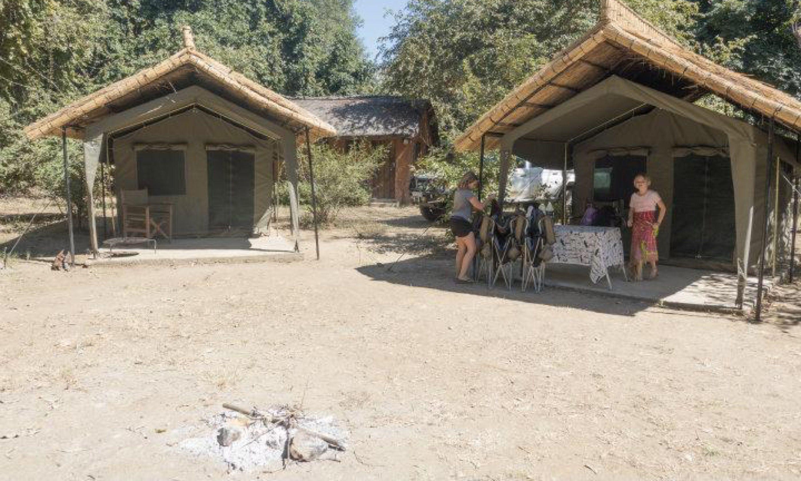 Croc Creek camp, Zambia (Edwina Cagol)