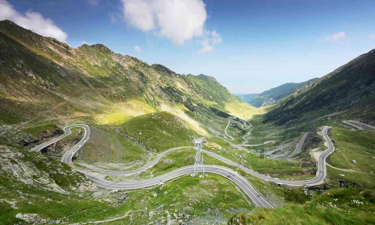 Transfagarasan highway (Dreamstime)