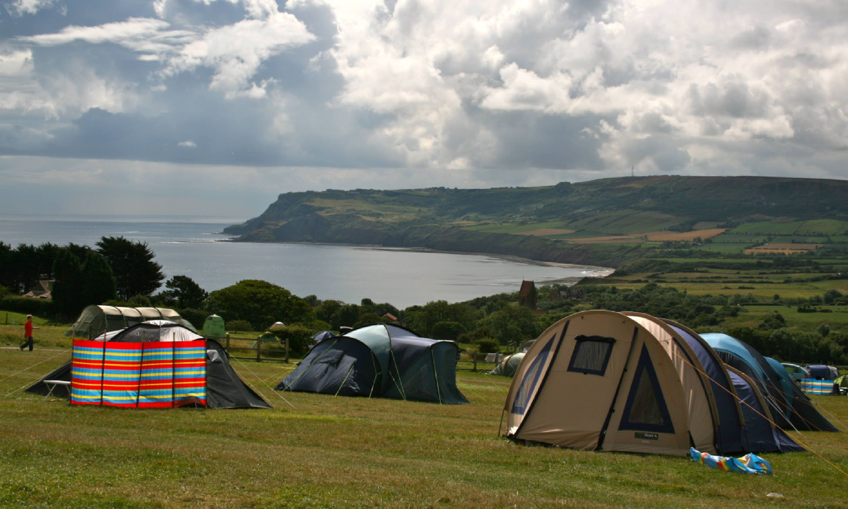 Amenities Pitches for 50 tents and 20 c&ervans/caravans spread out across a gently sloping field. A second field serves as a family play ... & Top 10 cool campsites in England and the Isle of Wight | Wanderlust