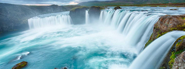 Godafoss waterfall, Iceland (Shutterstock: see credit below)