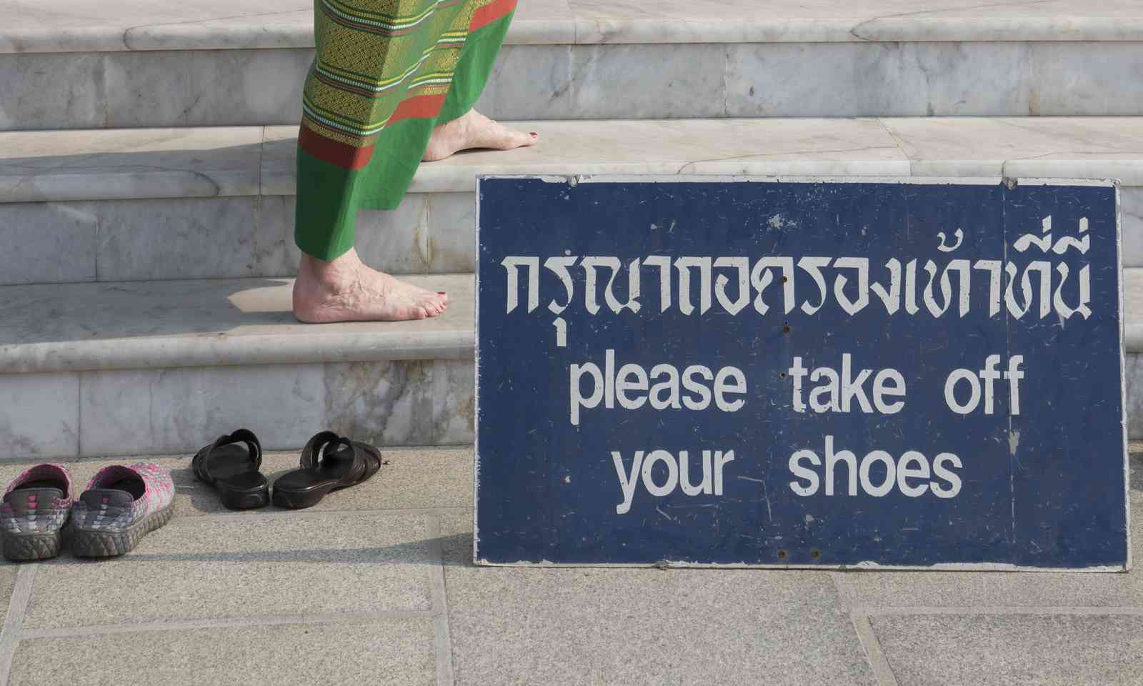 Respecting local customs in Thailand (Dreamstime)