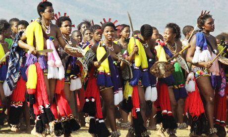 Umhlanag Reed Dance, Swaziland