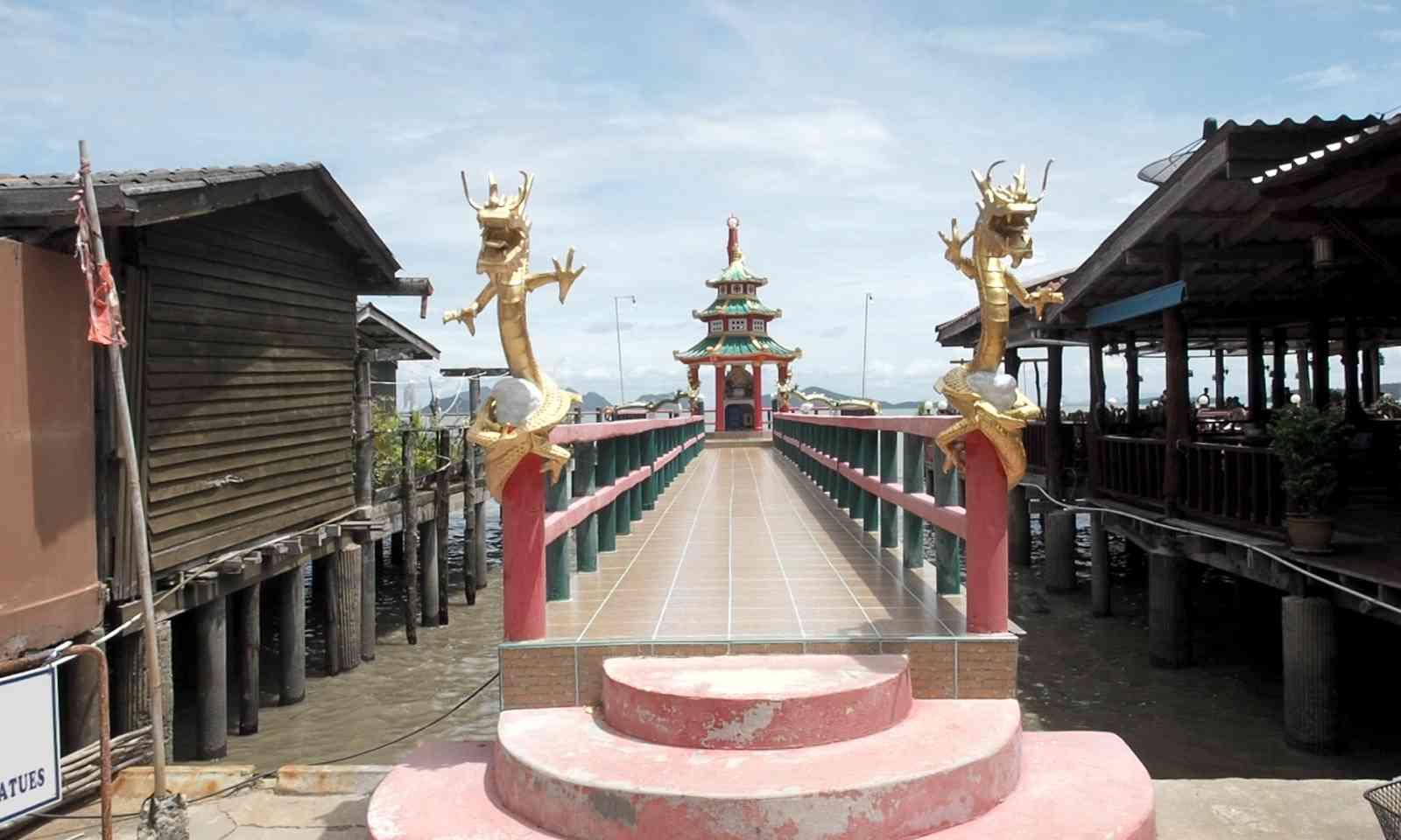 Ko Lanta's new pier. Not dinghy friendly (Jamie Furlong)