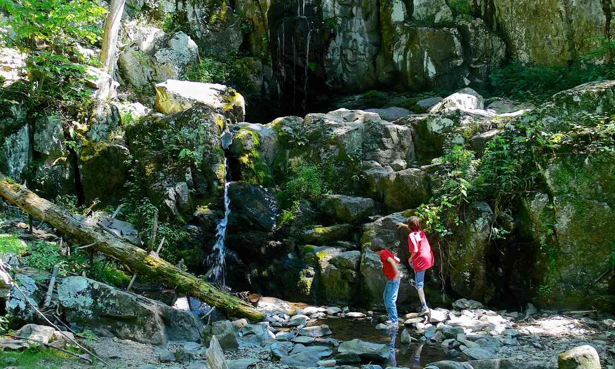 Blue Ridge waterfall (Melanie Gow)