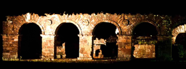Ruins at Trinidad, Paraguay (lett)