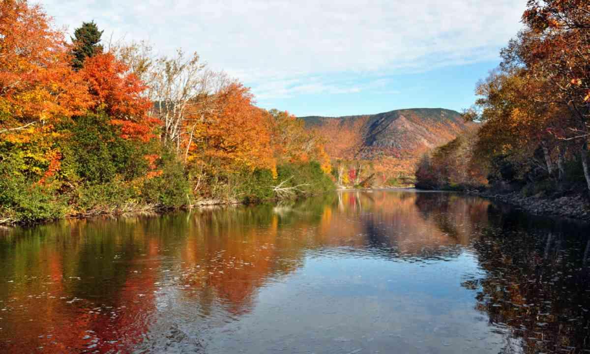 The North Aspy River in Cape Breton, Nova Scotia (Shutterstock)