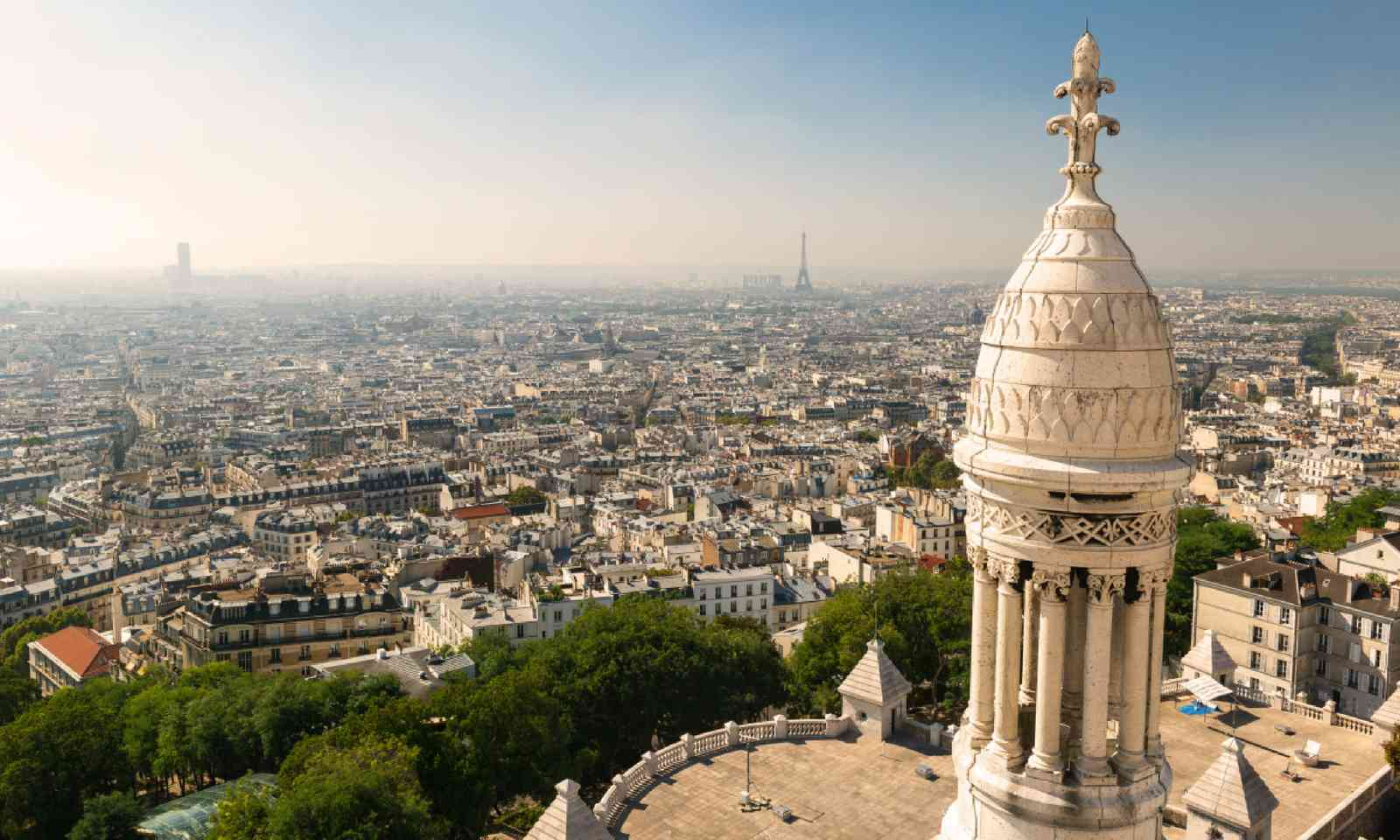 View from Montmartre (Shutterstock)