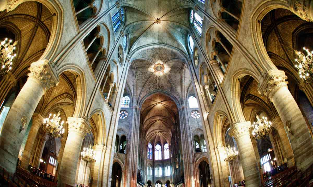 Interior of Notre Dame (Shutterstock)