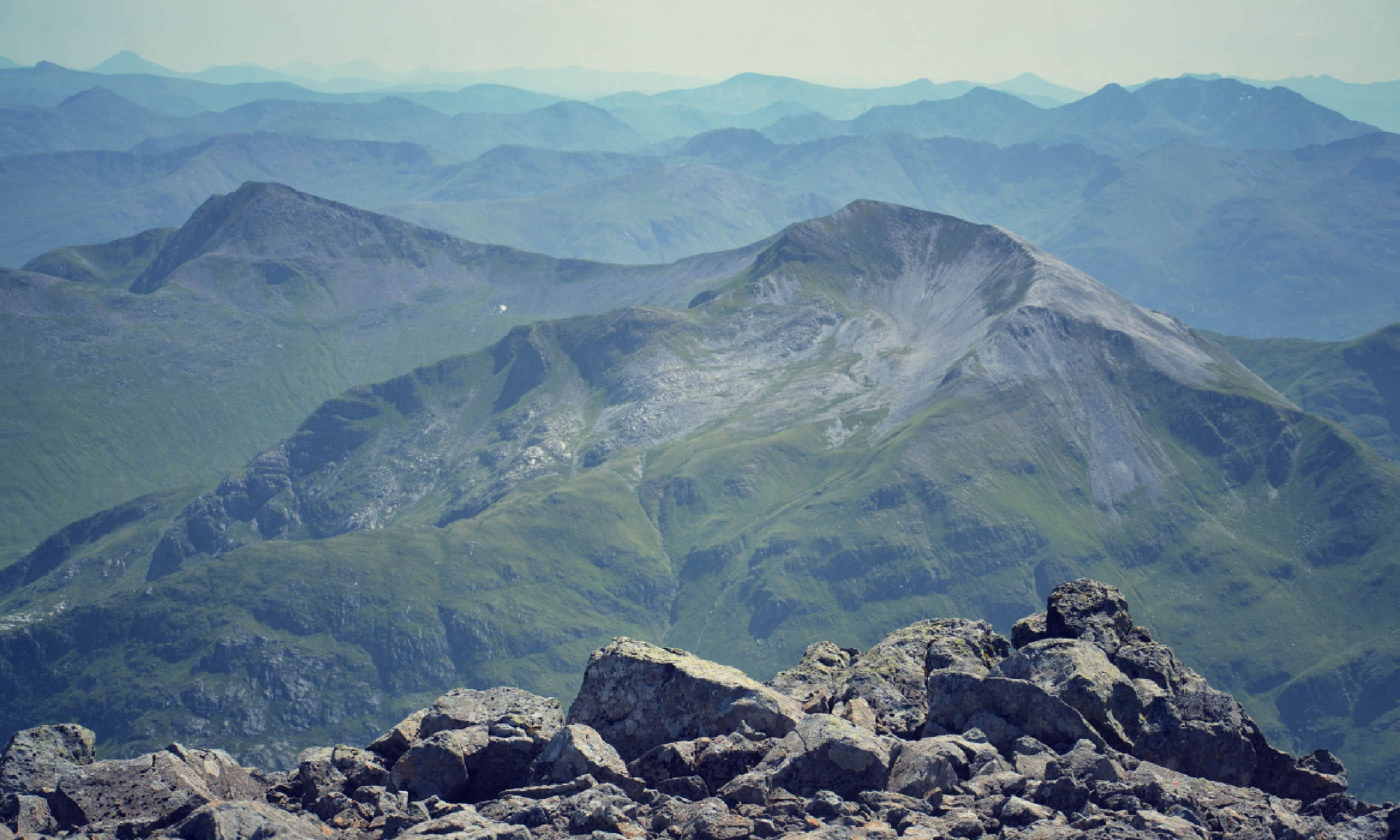 View from the Ben Nevis summit (Shutterstock)