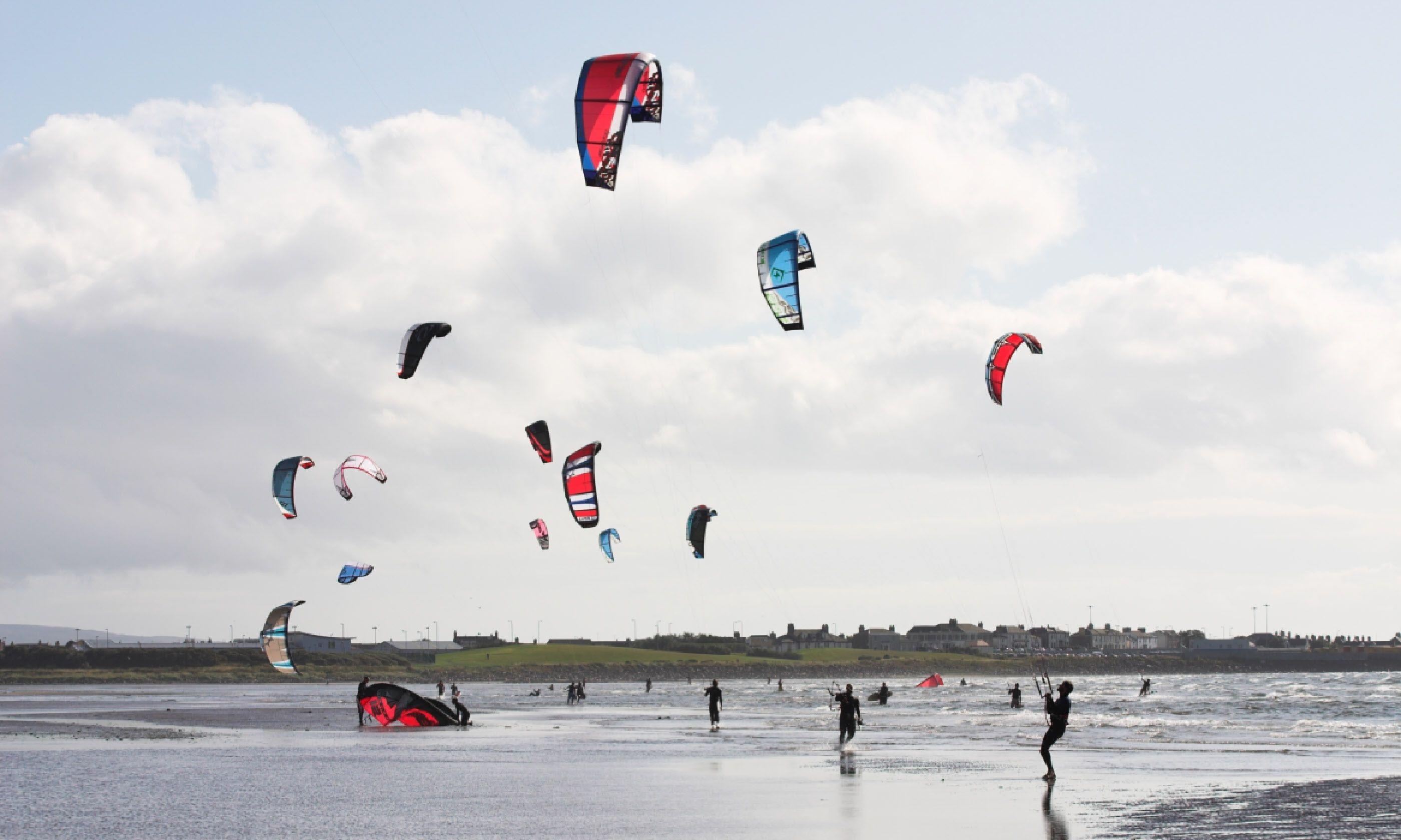 Kite surfing in Scotland (Shutterstock)