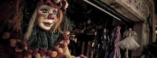 Clown Marionette (Shutterstock: see credit below)