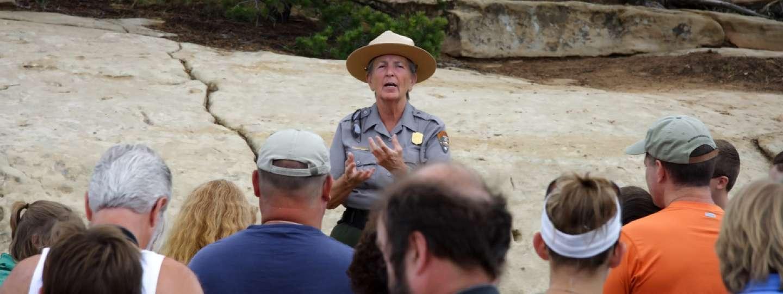 Park Ranger in Mesa Verde, CO (Shutterstock)