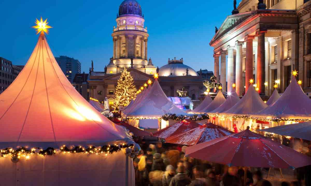 Christmas market in Berlin (Shutterstock)