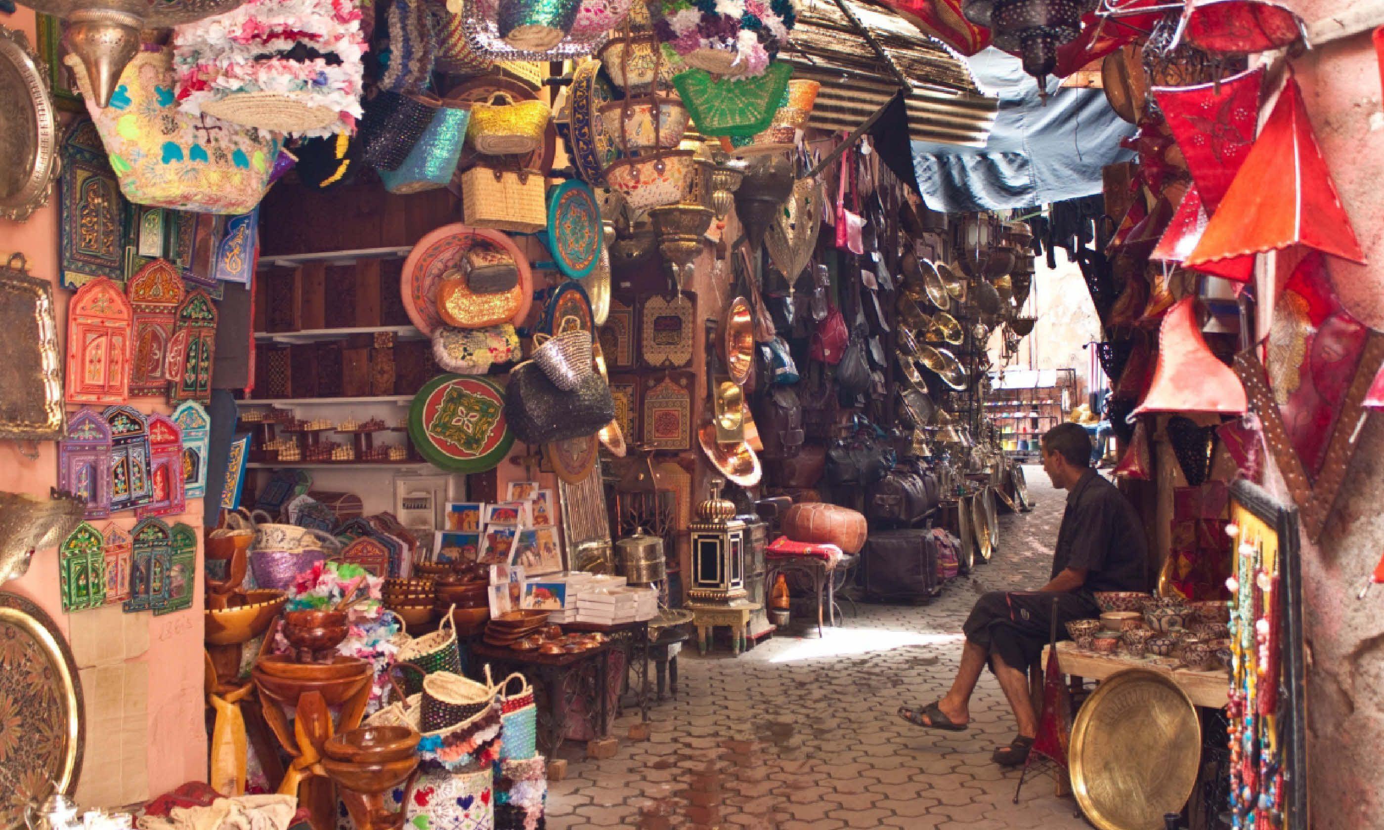 Marrakech souk (Shutterstock)