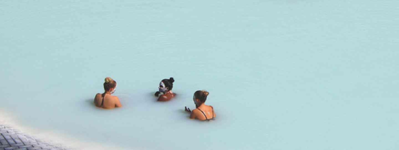Take a dip in Iceland's steaming Blue Lagoon (Christine Zenino)