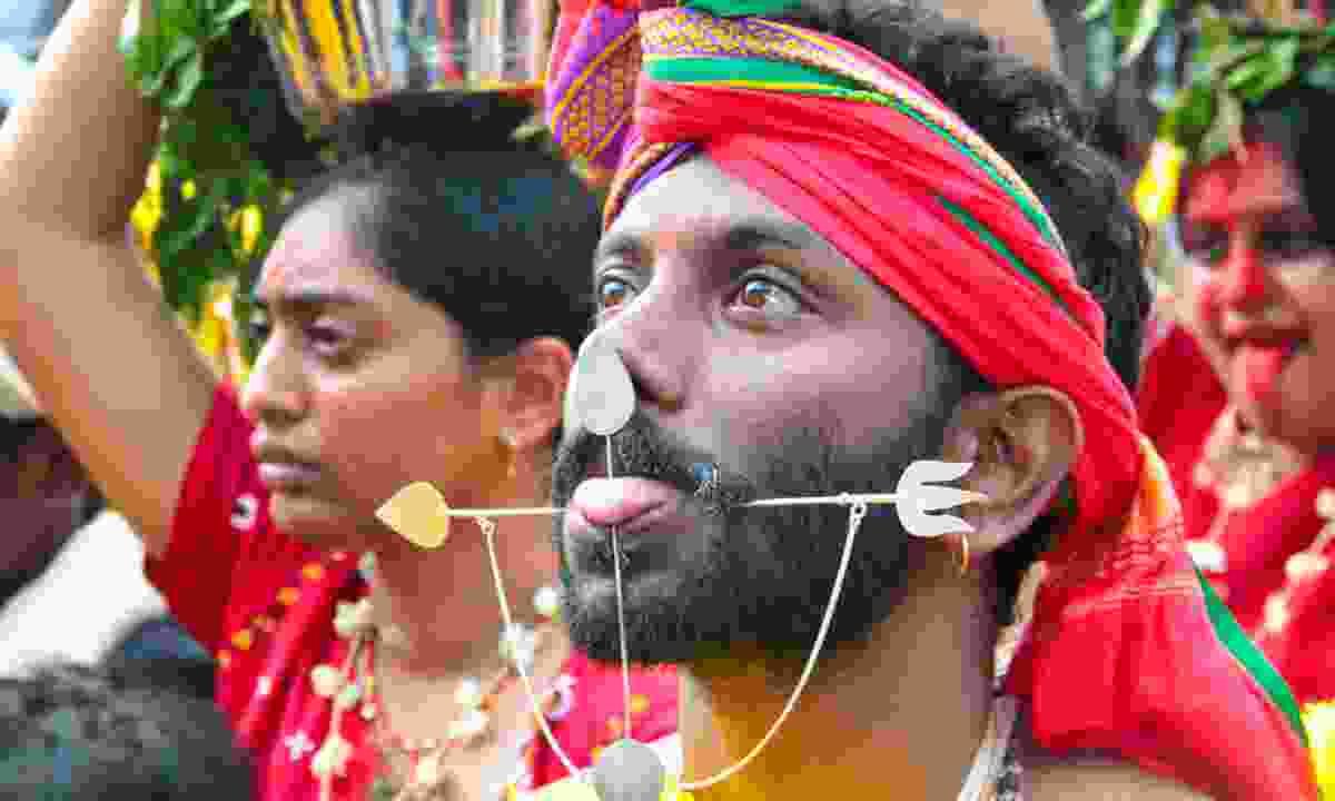 Hindu devotee (Shutterstock)