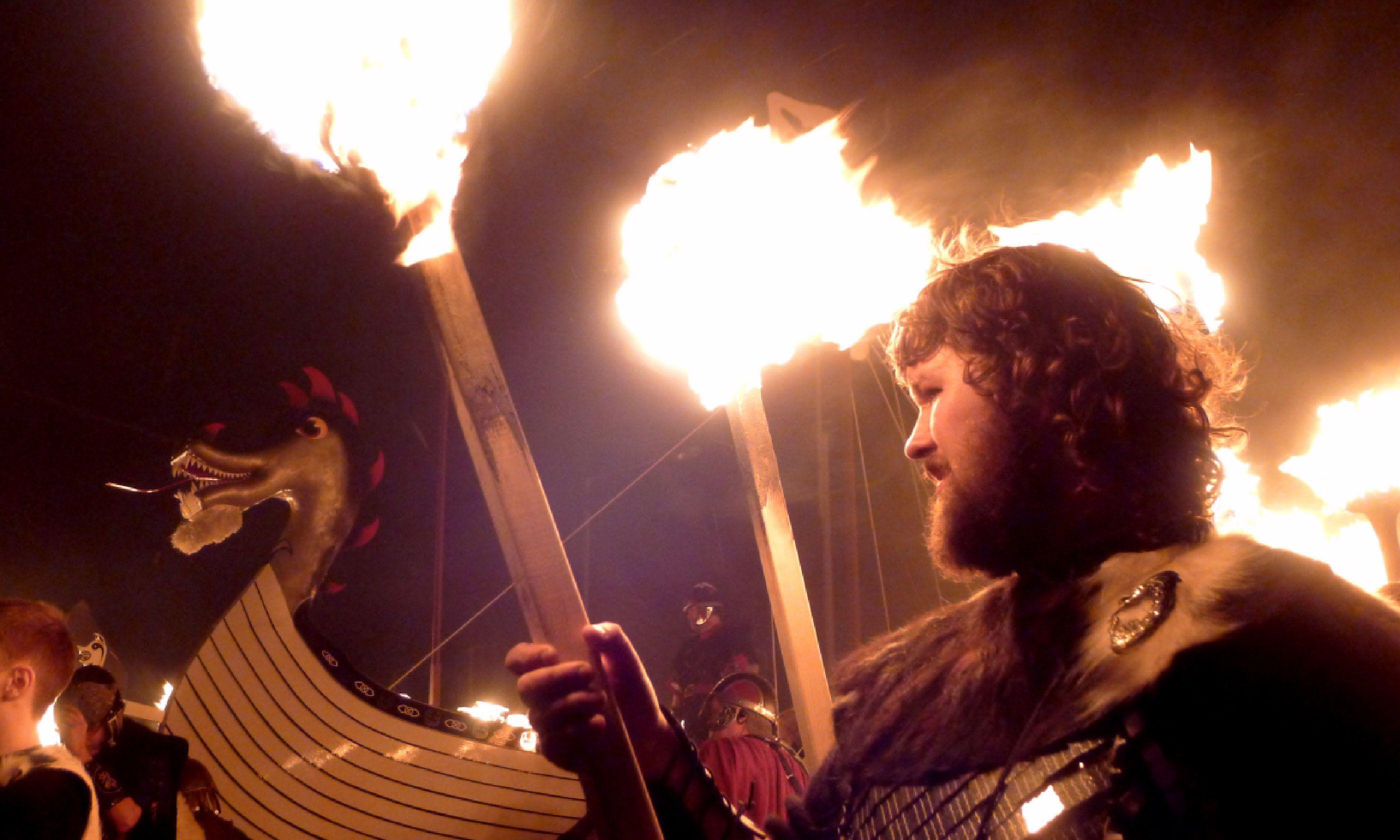 Viking, Lerwick (Flickr C/C: Martin Deutsch)