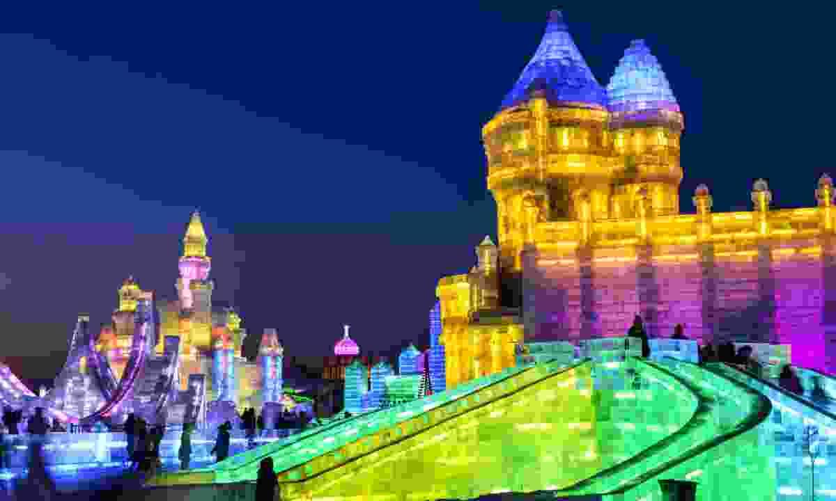 Harbin Ice and Snow World (Shutterstock)
