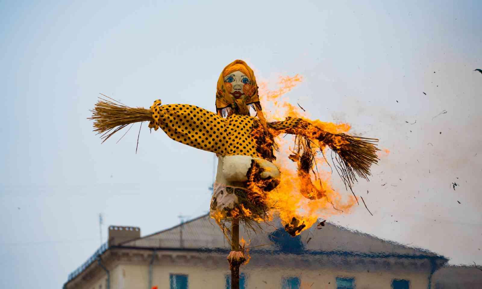 Burning effigy (Shutterstock)