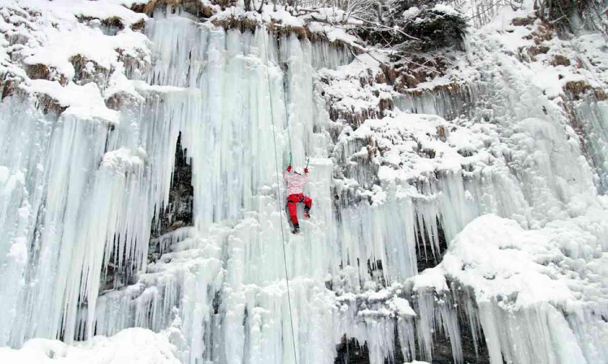 Ice climbing (Shutterstock)