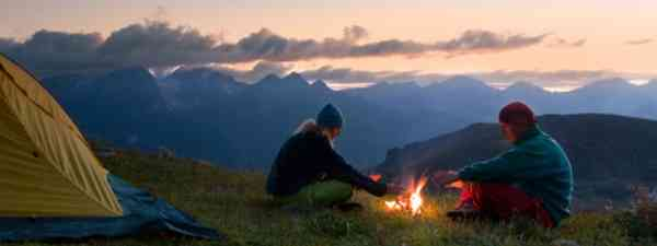 Take an alternative camping trip this year under the stars (Dreamstime)