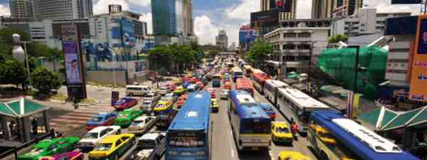 Skip the traffic and the hoardes in Bangkok and settle on a cycle tour (Dreamstime)