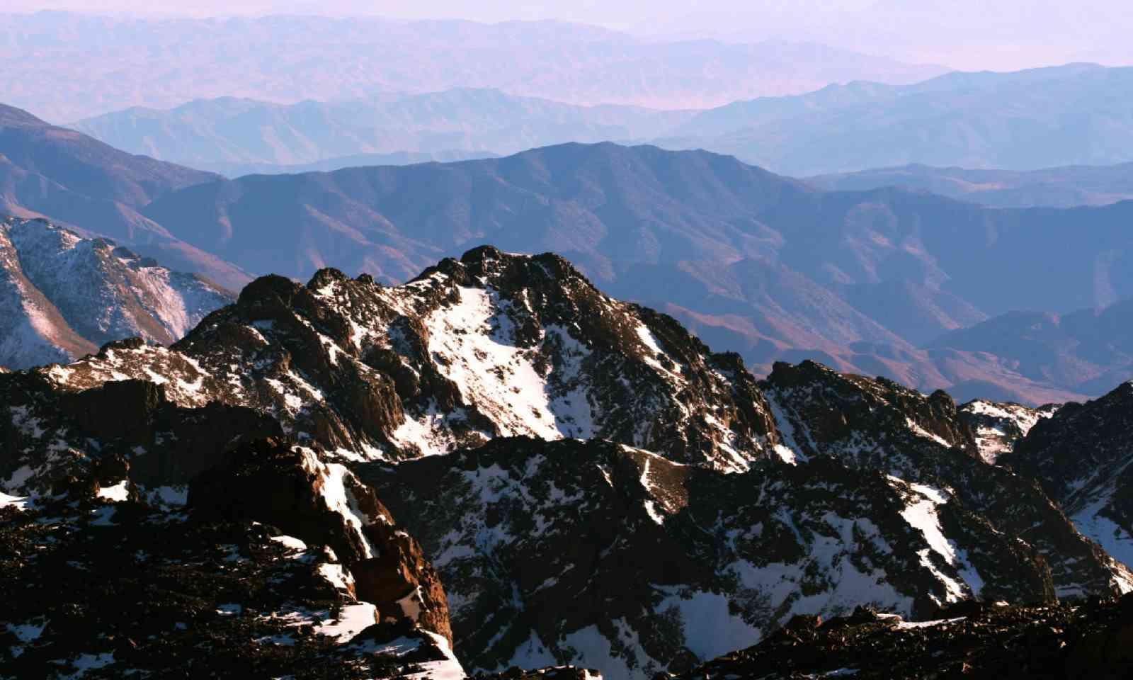 High Atlas mountains, Morocco (Shutterstock)