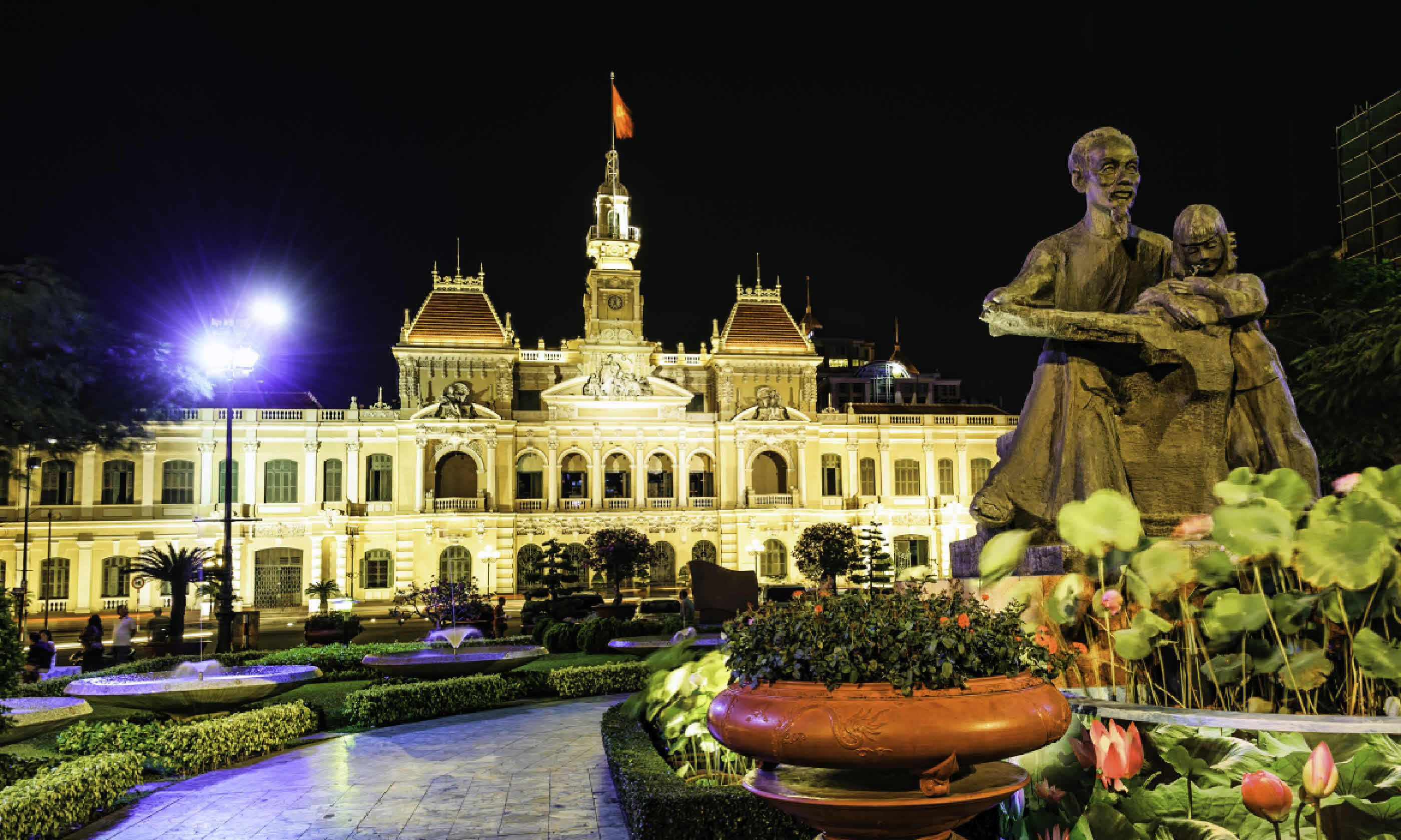 Ho Chi Minh City Hall, Dong Khoi Street (Shutterstock)