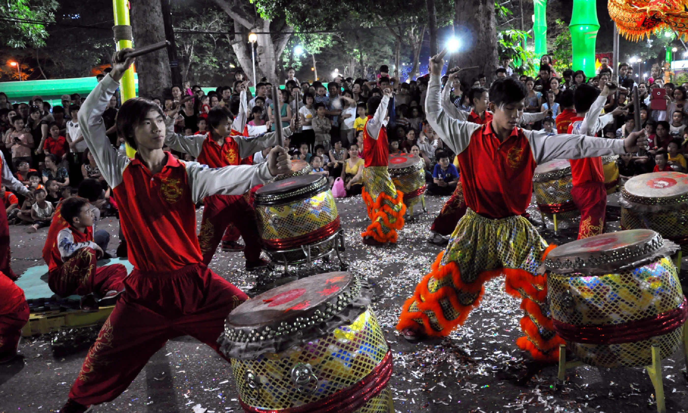 Tet Lunar New Year celebrations, Ho Chi Minh City (Shutterstock)