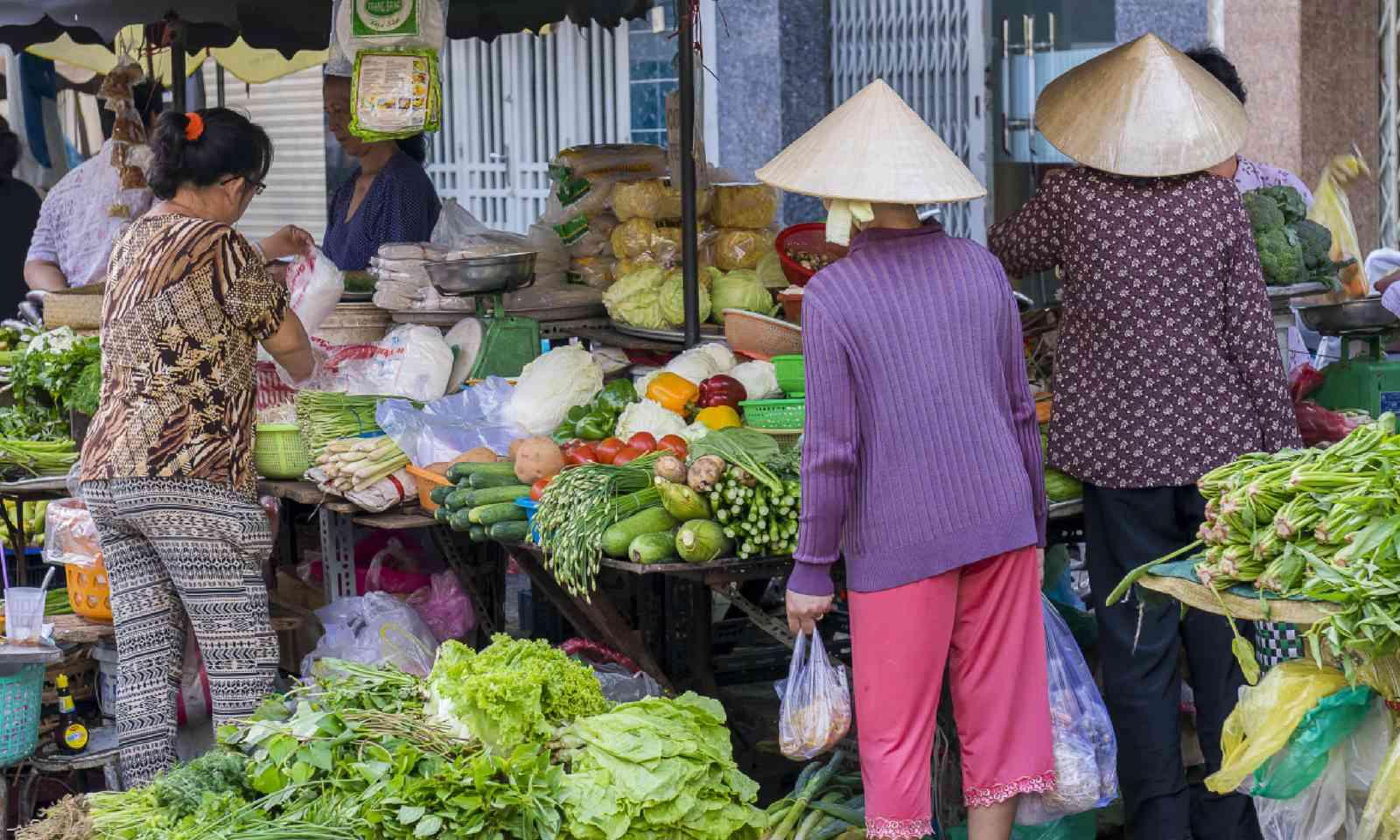 Street market, Ho Chi Minh City (Shutterstock)