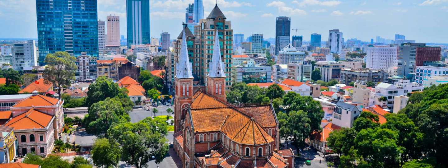 Notre Dame Cathedral, Ho Chi Minh City (Shutterstock: see credit below)