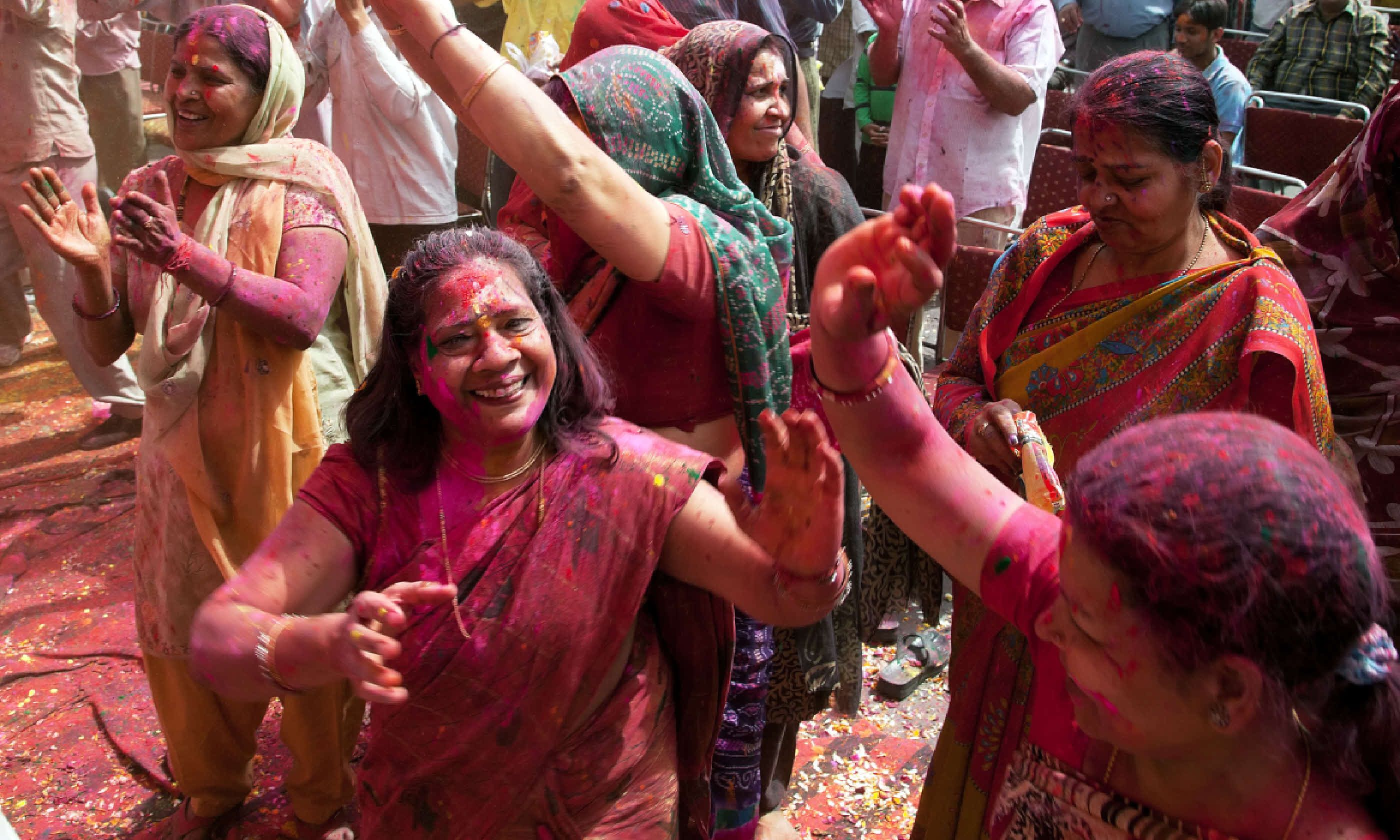Holi in Delhi, India (Shutterstock)