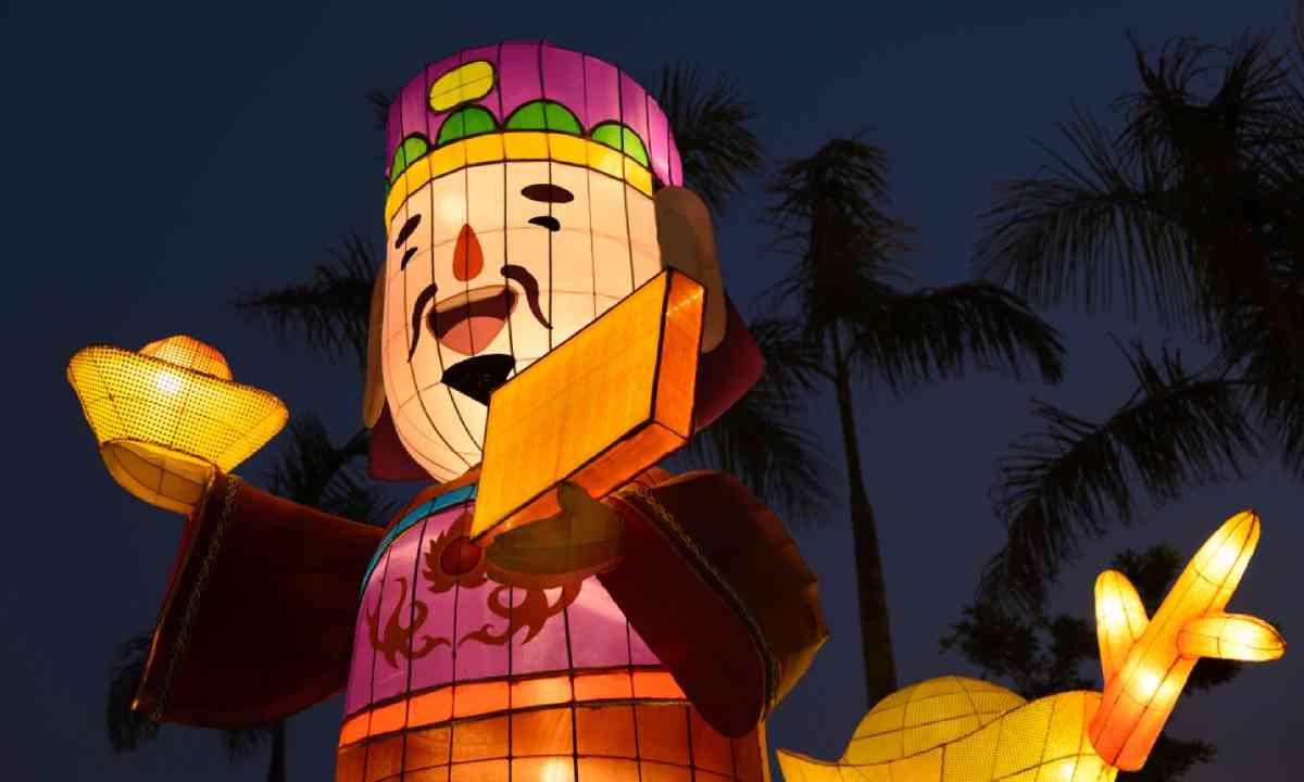 Chinese lanterns, Hong Kong (Shutterstock)