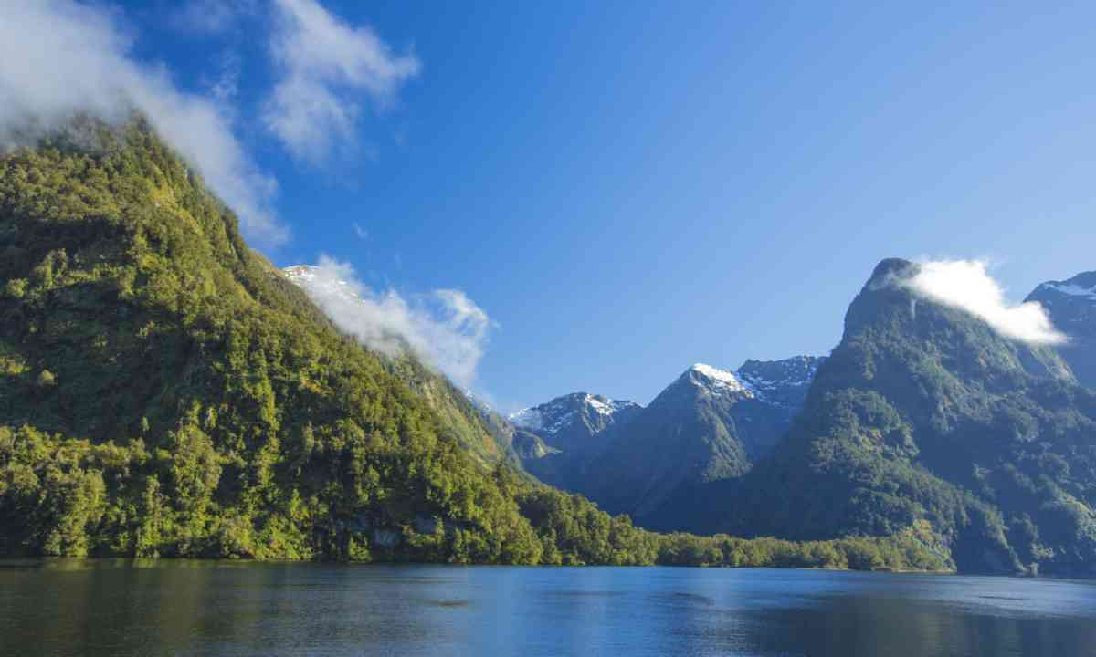Doubtful Sound in Fiordland (Shutterstock)
