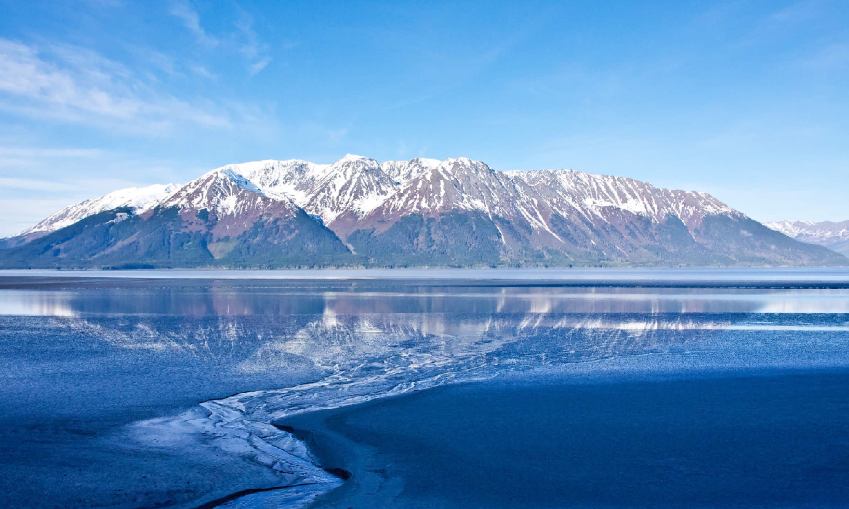 Alaska's Turnagain Arm (Shutterstock)