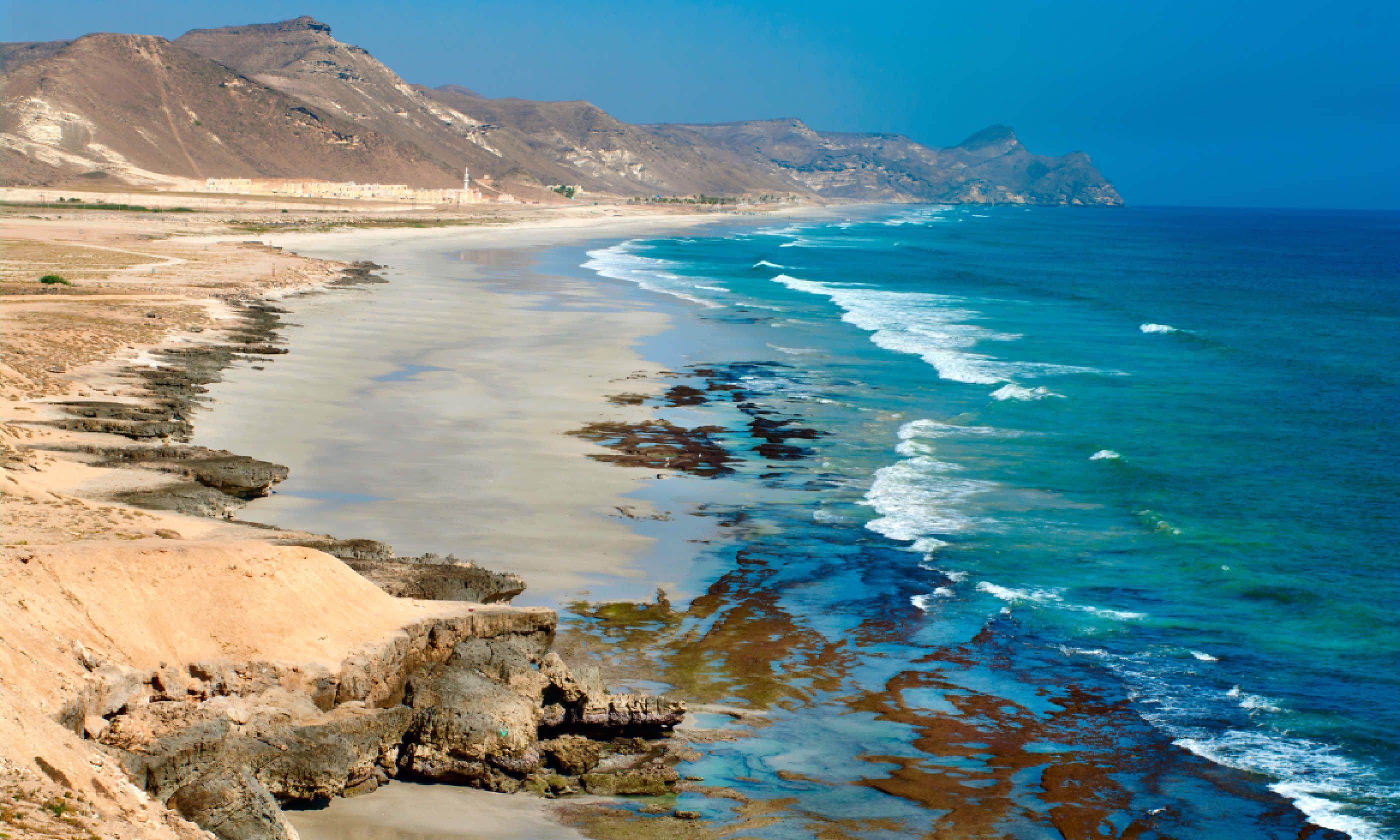 Al Mughsayl, Salalah, Oman (Shutterstock)