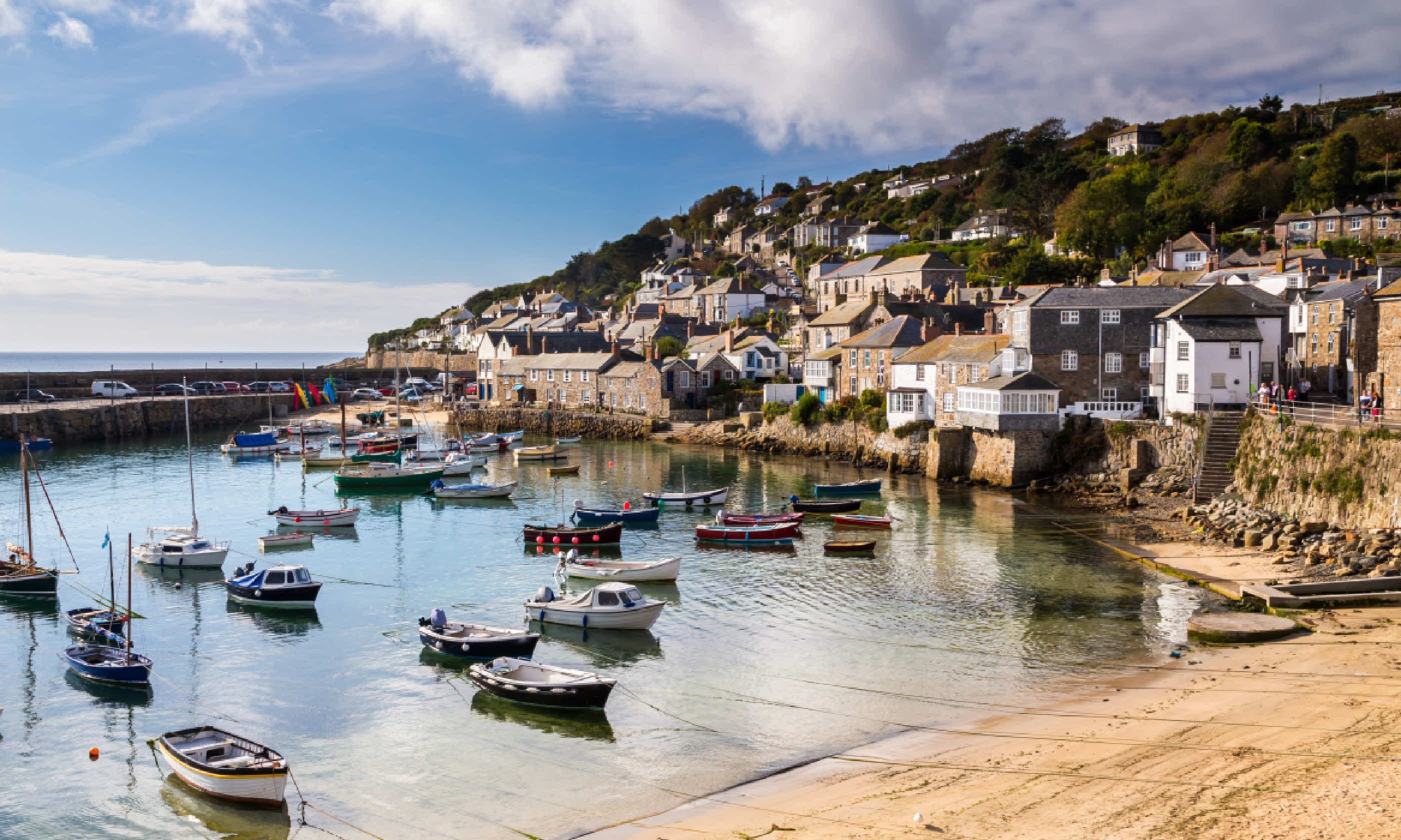 Mousehole Harbour near Penzance (Shutterstock)