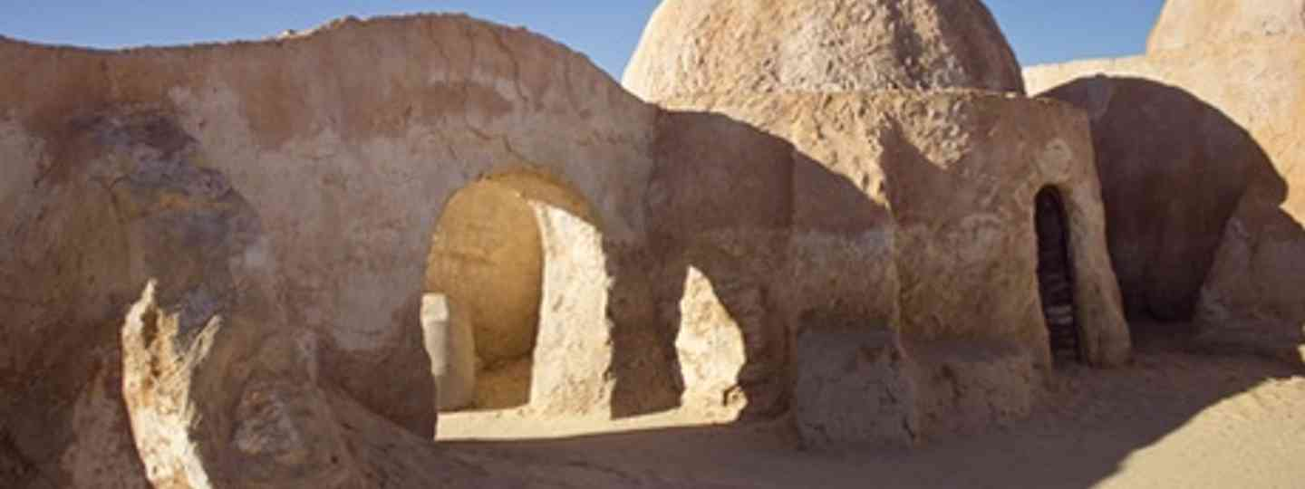 The scenery for Star Wars 4, Tunisia (dreamstime)