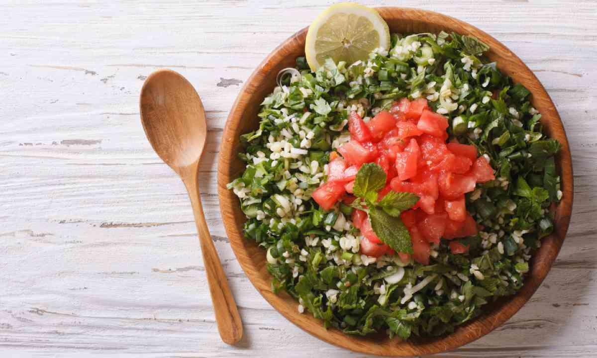Tabbouleh salad (Shutterstock)