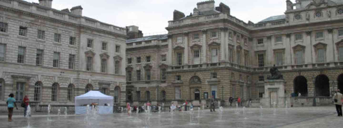 Somerset House, temporarily hosting Casa Brazil (Flickr: nikoretro)