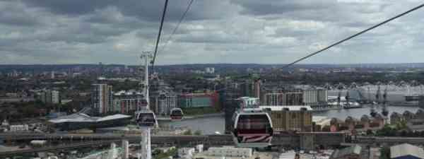 On sunnier days, take to the skies with the new Emirates Air Line for cracking views of the city (Dave Catchpole)