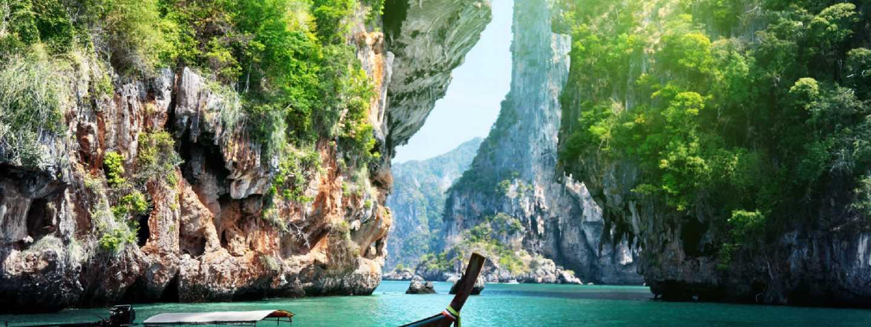 Krabi, Thailand (Shutterstock: see credit below)