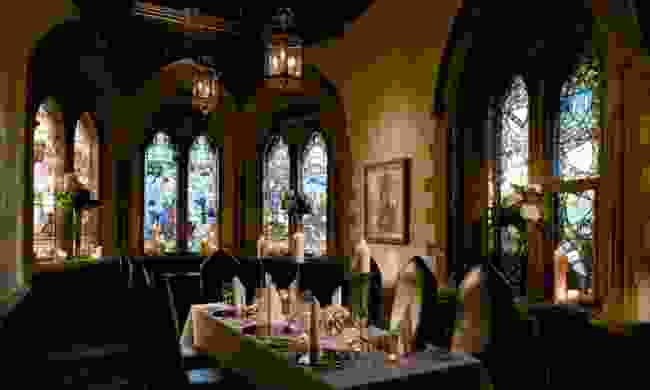 Dining room at Ettington Park Hotel (handpickedhotels.co.uk)