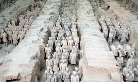 The Tomb of Qin Shi Huang, China (Thinkstock)
