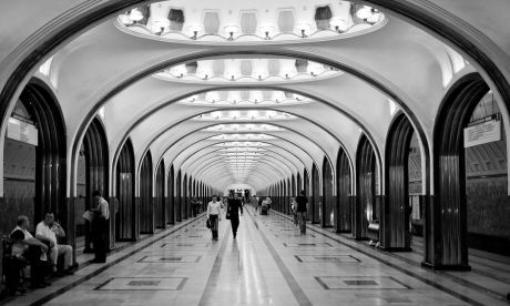 Moscow Metro-2 (Flickr: Greg Westfall)