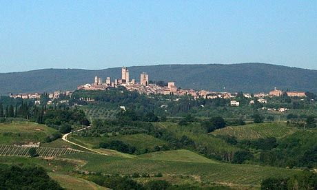 San Gimignano (Top 5 Tuscan hill-top towns)