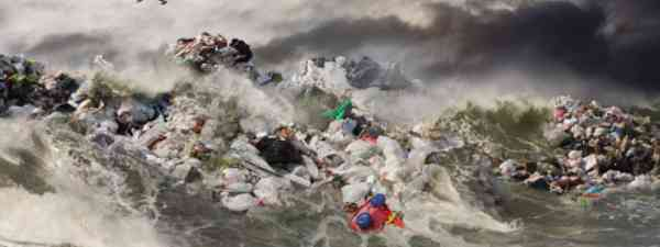 The great Pacific garbage patch (John Lund/Getty Images)
