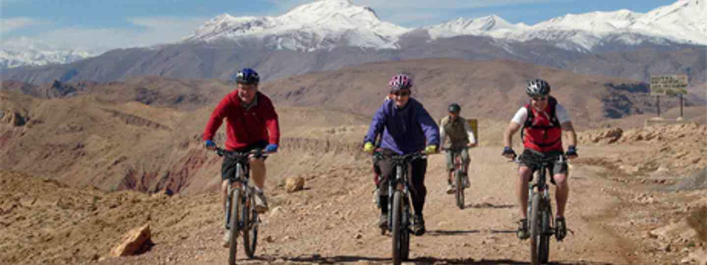 Join Exodus in Morocco to improve your cycling skills