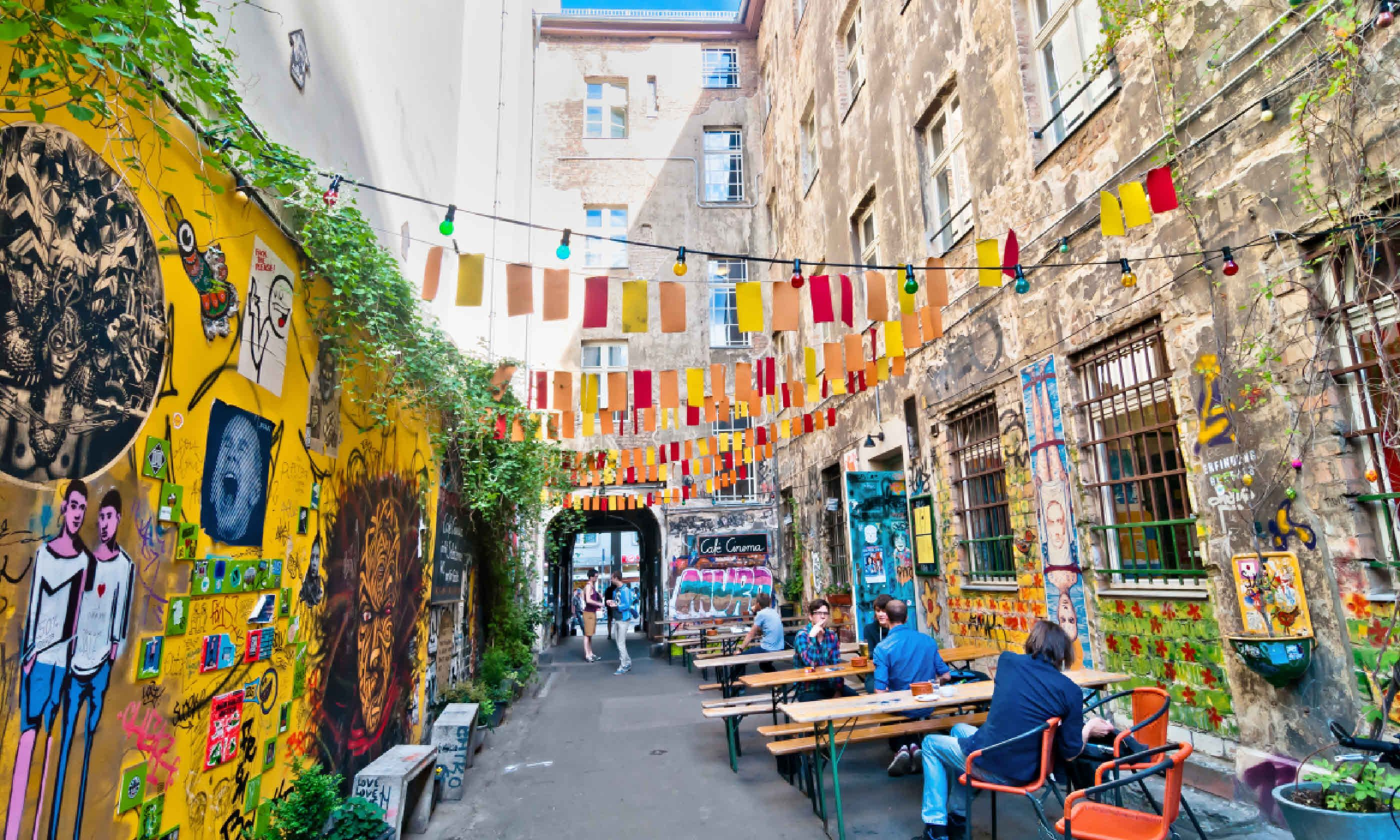 Street View In Mitte District (Shutterstock)